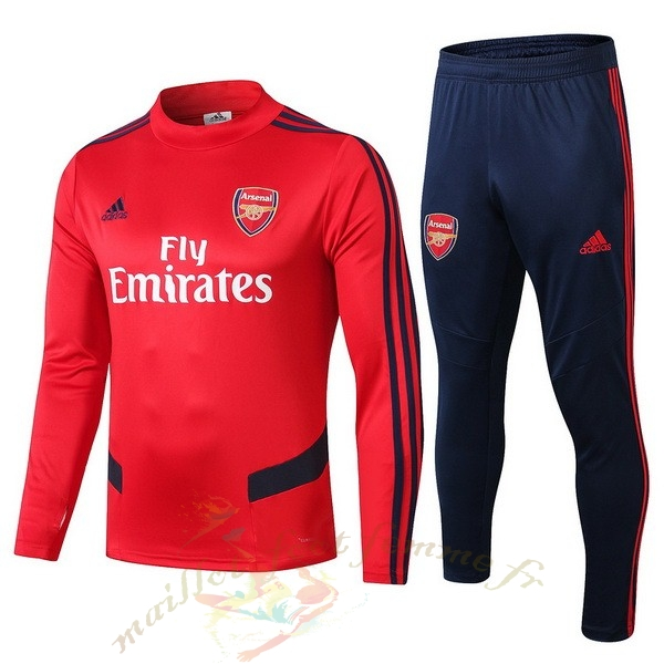 Destockage Maillot Football adidas Survêtements Enfant Arsenal 2019 2020 Rouge Bleu Blanc