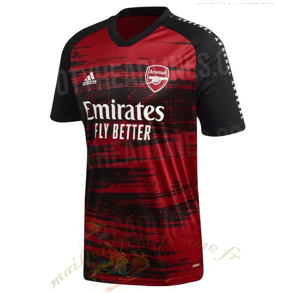 Destockage Maillot Football adidas Pre Match Maillot Arsenal 2020 2021 Rouge