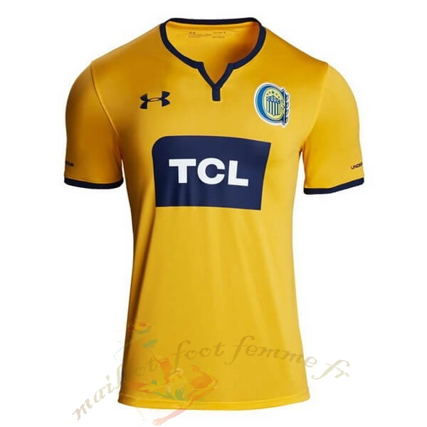 Destockage Maillot Football Under Armour Exterieur Maillot CA Roserio Central 2019 2020 Jaune