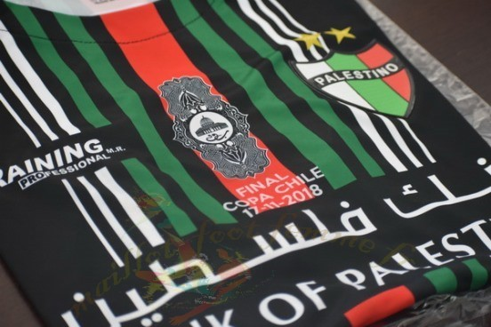Destockage Maillot Football Enersocks Coupe Finale Cd Palestino 2018 2019 Noir