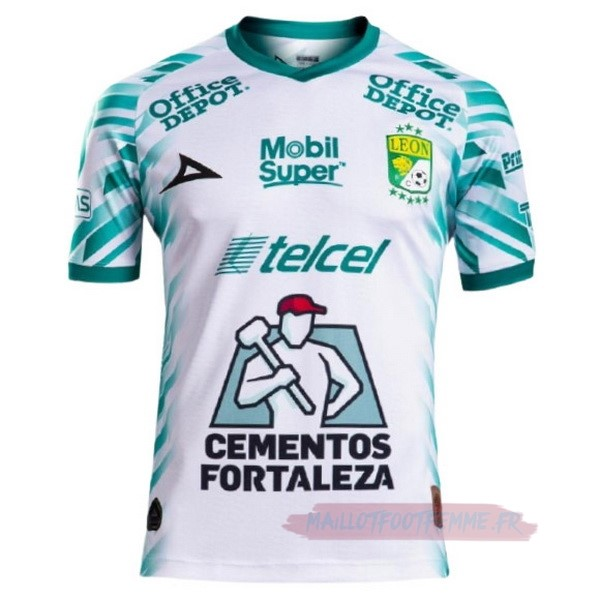 Destockage Maillot Football Pirma Third Maillot Club León 2021 2022 Blanc