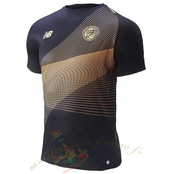 Destockage Maillot Football New Balance Third Maillot Costa Rica 2019 Noir