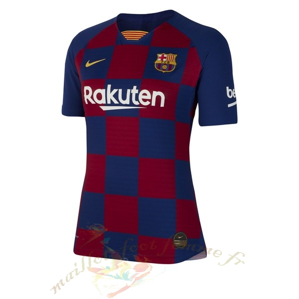 Destockage Maillot Football Nike Domicile Maillot Femme Barcelone 2019 2020 Bleu Rouge