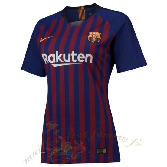 Destockage Maillot Football Nike Domicile Maillot Femme Barcelona 2018 2019 Bleu Rouge