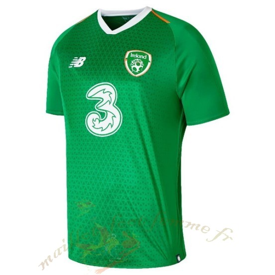 Destockage Maillot Football New Balance Domicile Maillot Irlande 2019 Vert