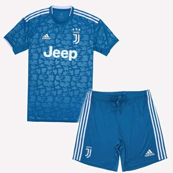 Destockage Maillot Football adidas Third Ensemble Enfant Juventus 2019 2020 Bleu
