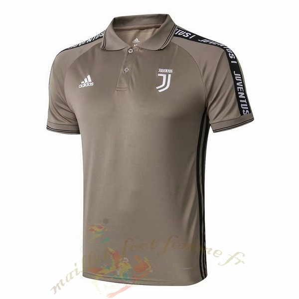 Destockage Maillot Football adidas Polo Juventus 2019 2020 Marron
