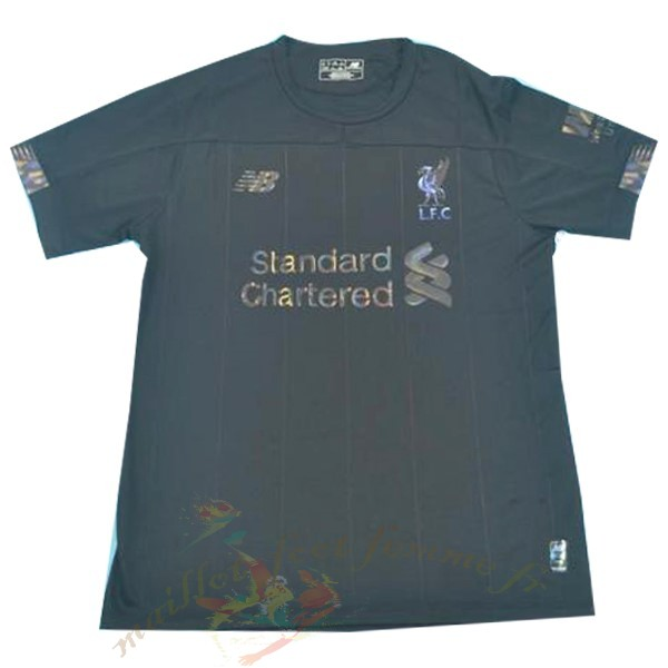 Destockage Maillot Football New Balance Spécial Maillot Liverpool 2019 2020 Noir