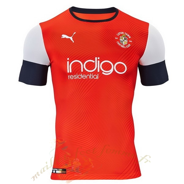 Destockage Maillot Football PUMA Domicile Maillot Luton Town 2019 2020 Orange