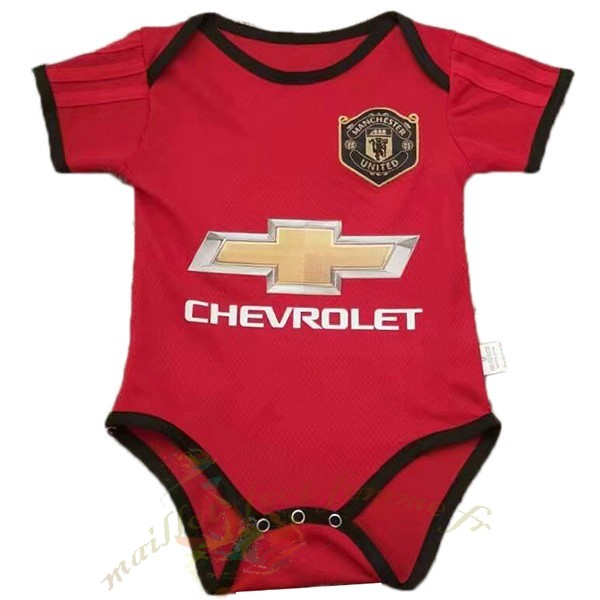 Destockage Maillot Football Adidas Domicile Onesies Enfant Manchester United 2019 2020 Rouge