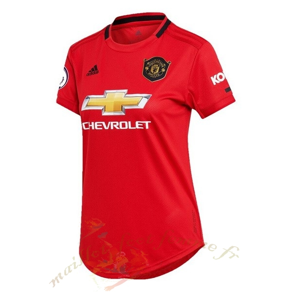 Destockage Maillot Football adidas Domicile Maillot Femme Manchester United 2019 2020 Rouge