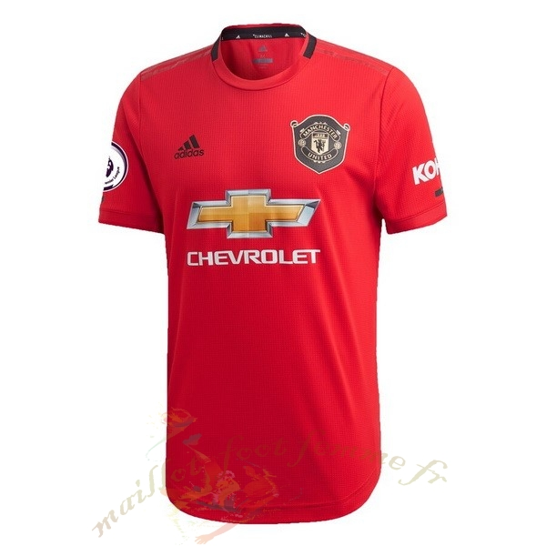 Destockage Maillot Football adidas Domicile Maillot Manchester United 2019 2020 Rouge