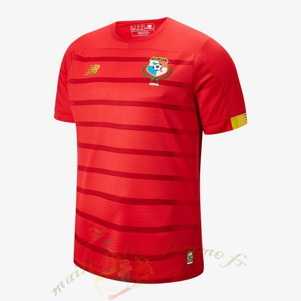 Destockage Maillot Football New Balance Domicile Maillot Panamá 2019 Rouge