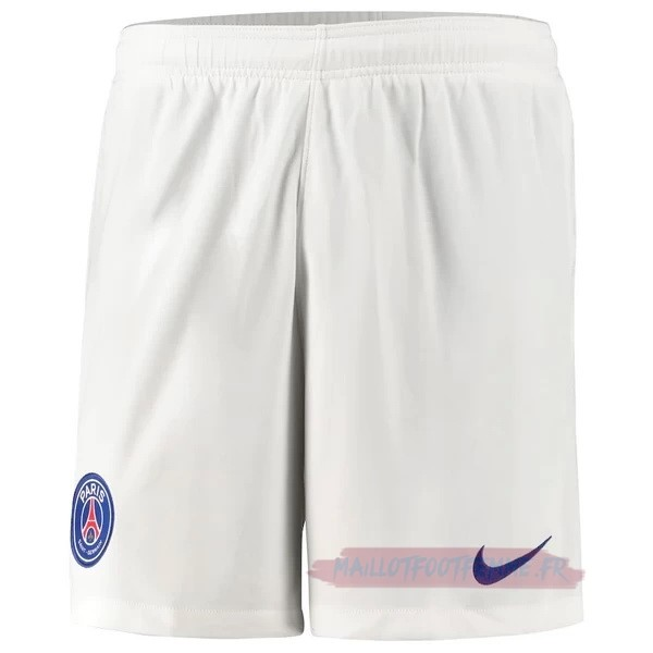 Destockage Maillot Football Nike Exterieur Pantalon Paris Saint Germain 2020 2021 Blanc