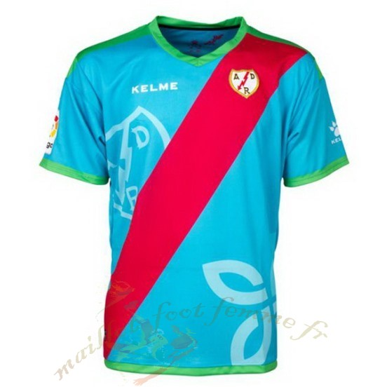 Destockage Maillot Football Kelme Third Maillot Rayo Vallecano De Madrid 2018 2019 Bleu