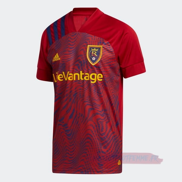 Destockage Maillot Football adidas Domicile Maillot Real Salt Lake 2020 2021 Rouge
